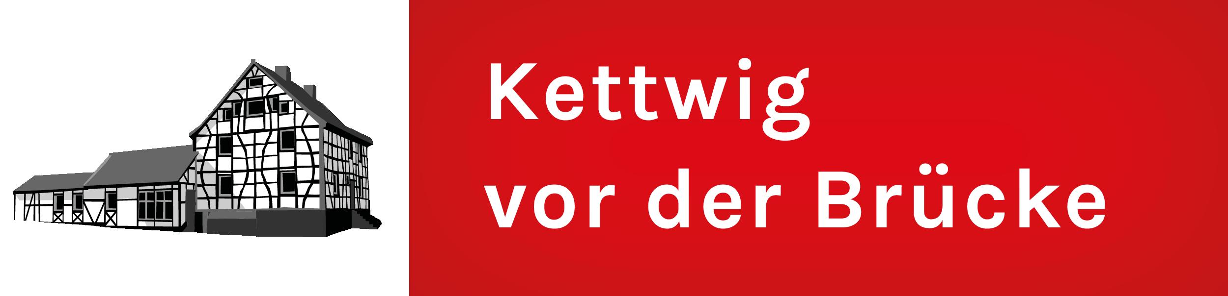 Banner für Kettwig vor der Brücke