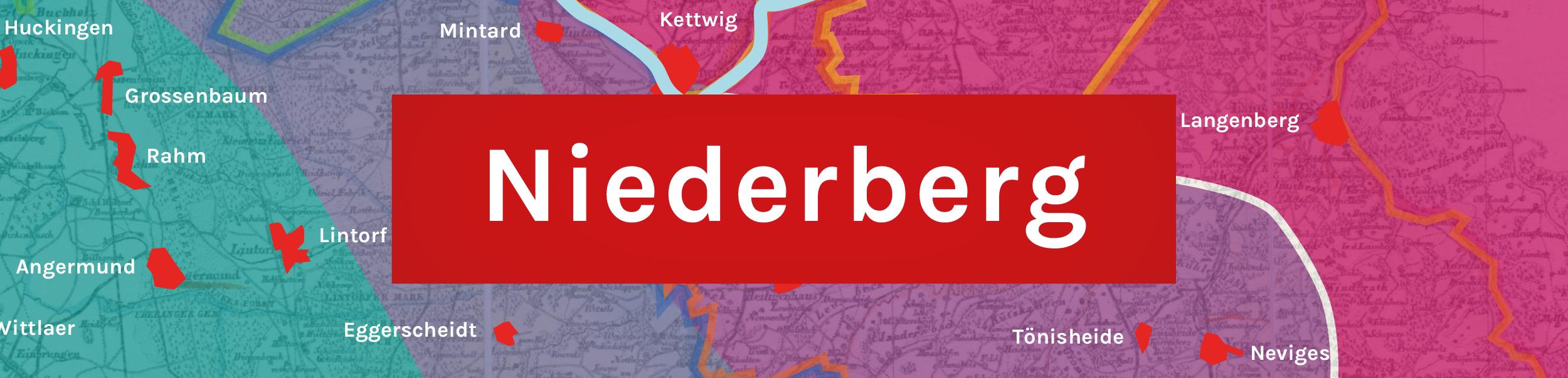 Banner für das Niederbergische