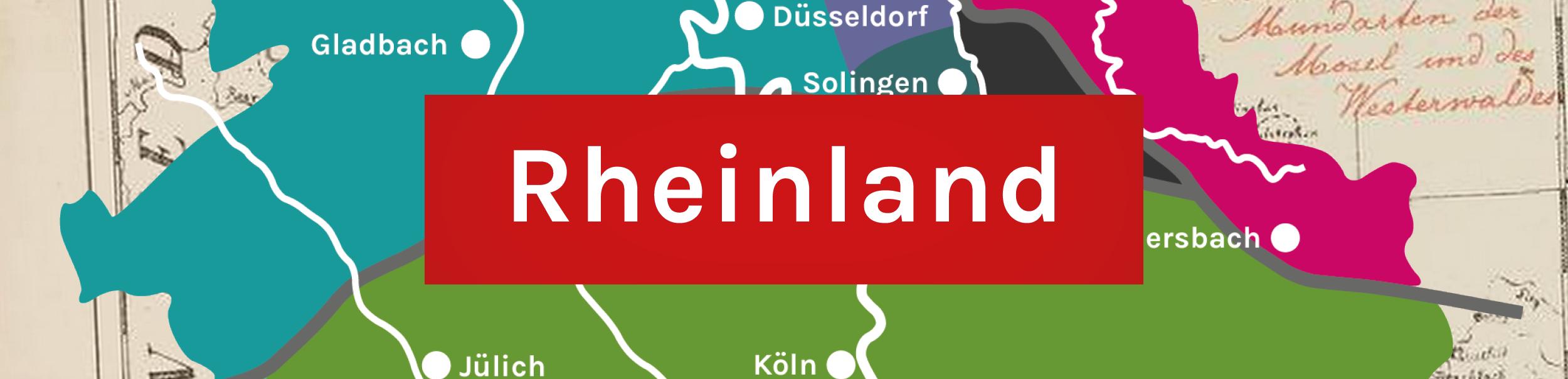 Banner für das Rheinland